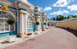 Catherine Palace - the summer residence of the Russian tsars. Ts Stock Photos