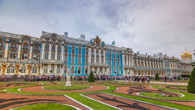 The Catherine Palace timelapse hyperlapse is a Rococo palace located in the town of Tsarskoye Selo Pushkin. The Catherine Palace timelapse hyperlapse is a Rococo stock footage