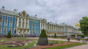 The Catherine Palace timelapse hyperlapse is a Rococo palace located in the town of Tsarskoye Selo Pushkin. The Catherine Palace timelapse hyperlapse is a Rococo stock video