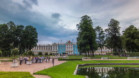 The Catherine Palace timelapse hyperlapse is a Rococo palace located in the town of Tsarskoye Selo Pushkin. The Catherine Palace timelapse hyperlapse is a Rococo stock video footage