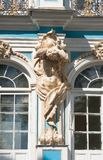 The Catherine Palace, Town Tsarskoye Selo, Russia Royalty Free Stock Photos