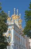 The Catherine Palace, Town Tsarskoye Selo, Russia Royalty Free Stock Photography