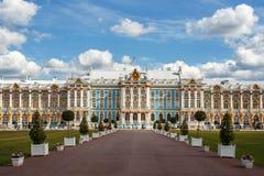 Catherine Palace, Tsarskoe Selo imagenes de archivo
