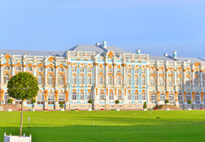 Catherine Palace in Tsarskoe Selo. Stock Images