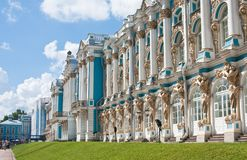 The Catherine Palace,  Tsarskoye Selo Royalty Free Stock Photo