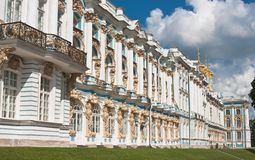 The Catherine Palace,  Tsarskoye Selo Royalty Free Stock Photos