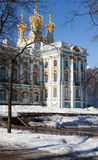 Catherine Palace in Tsarskoye Selo Fotografia Stock Libera da Diritti