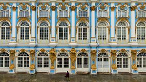 Catherine Palace in Tsarskoye Selo, Pushkin, Russia Royalty Free Stock Photos