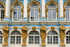 Catherine Palace in Tsarskoye Selo, Pushkin, Russia Stock Photography
