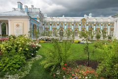 Catherine Palace in Tsarskoye Selo, (Pushkin), Russia Stock Image