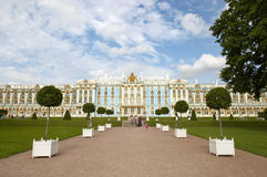 Catherine Palace in Tsarskoye Selo Royalty Free Stock Photos
