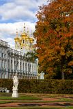 Catherine Palace in Tsarskoye Selo, Russia Royalty Free Stock Images