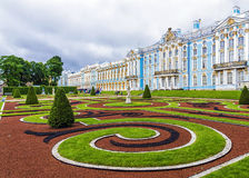 The Catherine Palace in Tsarskoye Selo, St. Petersburg, Russia Stock Photos