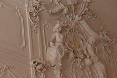 Catherine palast στη Αγία Πετρούπολη στη Ρωσία από μέσα στοκ εικόνες