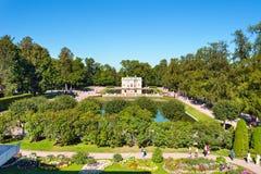 Catherine Park em Tsarskoe Selo Fotos de Stock