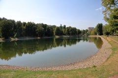 Catherine Park en Moscú, Rusia Fotografía de archivo