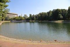 Catherine Park en Moscú, Rusia Foto de archivo