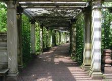 Catherine Park Gardens, Tsarskoye Selo (Pushkin) Stock Photo