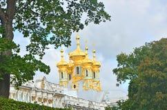 Catherine Park i St Petersburg Royaltyfri Fotografi