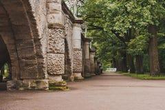 Catherine Park i Tsarskoye Selo 1043 Royaltyfri Fotografi