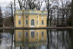 Catherine Park na cidade de Pushkin Foto de Stock Royalty Free