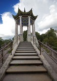 Catherine Park. Pushkin (Tsarskoye Selo). Petersburg. Pavilion in the Chinese style. Catherine Park. Pushkin (Tsarskoye Selo). Petersburg. Pavilion in  Chinese Stock Photography