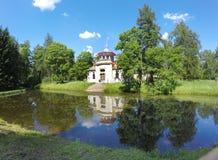 Catherine Park. Pushkin (Tsarskoye Selo). Petersburg. Pavilion in the Chinese style. Catherine Park. Pushkin (Tsarskoye Selo). Petersburg. Pavilion in the Royalty Free Stock Image