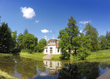 Catherine Park. Pushkin (Tsarskoye Selo). Petersburg. Pavilion in the Chinese style.  Royalty Free Stock Photo