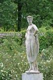 Catherine Park Sculpture no ST PETERSBURGO, TSARSKOYE SELO, RÚSSIA imagem de stock