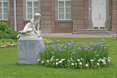 Catherine Park Sculpture in St. PETERSBURG, TSARSKOYE SELO, RUSSLAND Lizenzfreies Stockfoto