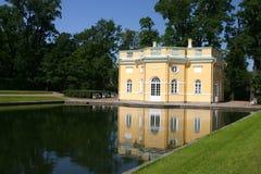 Catherine park in Tsarskoye Se stock photo