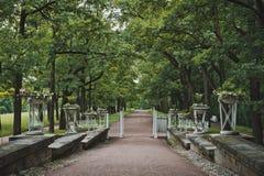 Catherine Park in Tsarskoye Selo 1045 Fotografia Stock