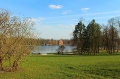 Catherine Park, Tsarskoye Selo photo stock