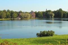 Catherine Park, Tsarskoye Selo Image stock