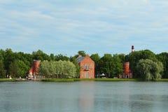 Catherine Park, Tsarskoye Selo Images libres de droits