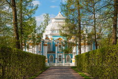 Catherine-Park in Tsarskoye Selo Lizenzfreie Stockfotos