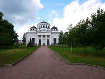 Catherine Park, Tsarskoye Selo Catherine Palace in Rusland, St. Petersburg, door toeristen die over de hele wereld wordt bezocht  royalty-vrije stock fotografie