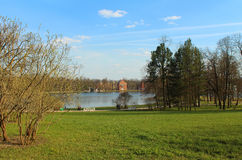 The Catherine Park, Tsarskoye Selo Stock Photo