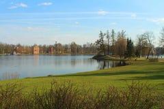 The Catherine Park, Tsarskoye Selo Stock Image
