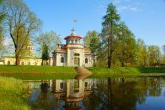 catherine parkowy selo tsarskoye Zdjęcia Royalty Free