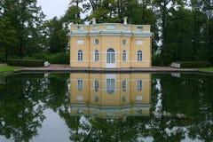 Catherine près de rue de Pétersbourg de palais image libre de droits