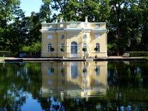 Catherine près de rue de Pétersbourg de palais Photos stock