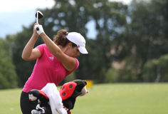Catherine rominger (GER) Evian Masters 2011 Royalty Free Stock Image
