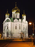 Catherines Cathedral in Pushkin view from the South-West Royalty Free Stock Photos