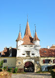 Catherine's Gate Brasov Stock Photos