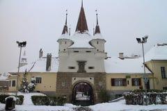 Catherine`s Gate Poarta Ecaterinei In Brasov Royalty Free Stock Image