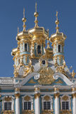 Catherine s Palace, the domes Royalty Free Stock Photos