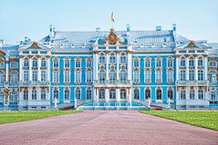 Catherine's palace in Pushkin, Russia Royalty Free Stock Photography
