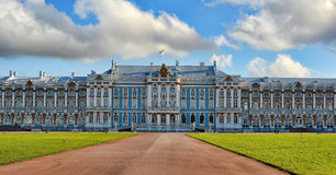 Catherine's palace in Pushkin, Russia Stock Photos