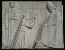 catherine saint siena Arkivbild